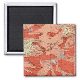 Detailed Geology Sheet XXVIII Magnet