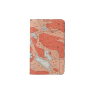 Detailed Geology Sheet XXVIII Pocket Moleskine Notebook