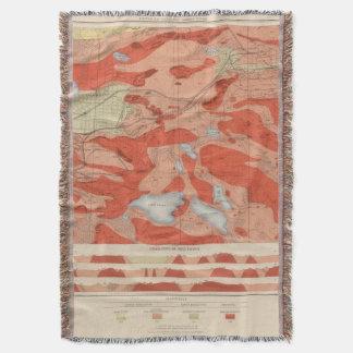 Detailed Geology Sheet XXVIII Throw Blanket