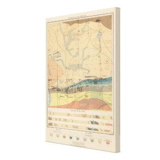 Detailed Geology Sheet XXX Canvas Print