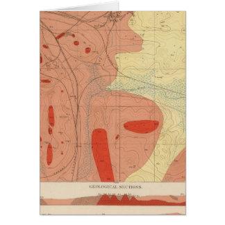 Detailed Geology Sheet XXXI Card