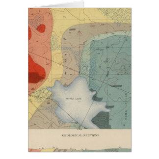 Detailed Geology Sheet XXXIV Card