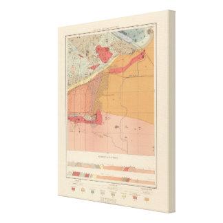 Detailed Geology Sheet XXXV Canvas Print
