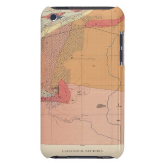 Detailed Geology Sheet XXXV iPod Touch Case-Mate Case