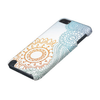 Detailed henna abstract sunrise iPod touch 5G case