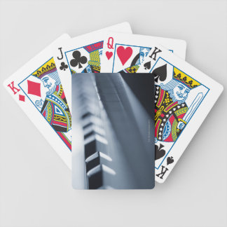 Detailed Piano Keys 2 Bicycle Playing Cards