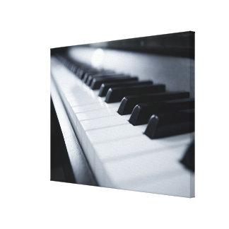 Detailed Piano Keys 2 Canvas Print