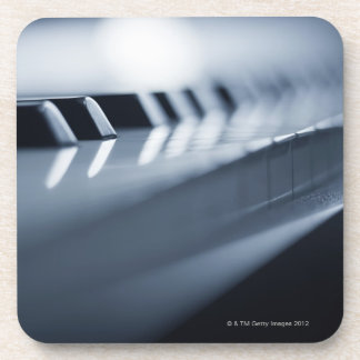 Detailed Piano Keys 2 Drink Coaster