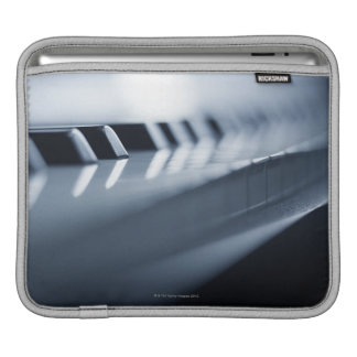 Detailed Piano Keys 2 iPad Sleeve