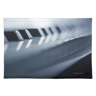 Detailed Piano Keys 2 Placemat