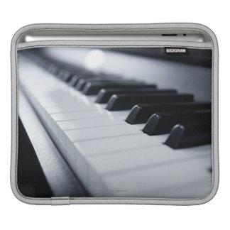 Detailed Piano Keys iPad Sleeve