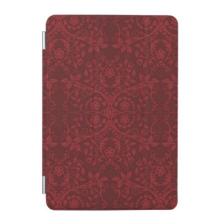 Detailed Red Floral Wallpaper iPad Mini Cover