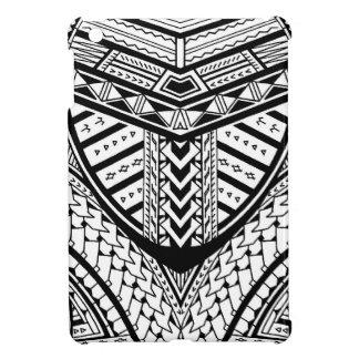 Detailed Samoan tribal tattoo pattern iPad Mini Cover