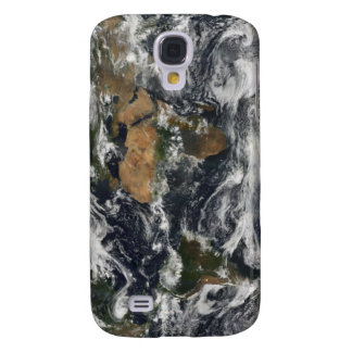 Detailed satellite view of Earth Galaxy S4 Case