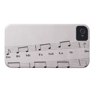 Detailed Sheet Music 2 iPhone 4 Case-Mate Cases