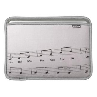 Detailed Sheet Music 2 MacBook Sleeve