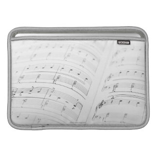 Detailed Sheet Music 3 MacBook Sleeve