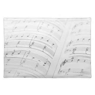 Detailed Sheet Music 3 Placemat