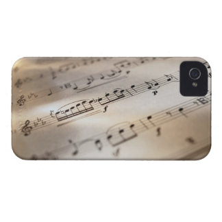 Detailed Sheet Music Case-Mate iPhone 4 Cases