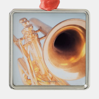 Detailed Trumpet 2 Christmas Ornament