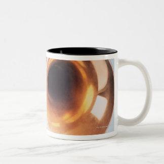 Detailed Trumpet 2 Two-Tone Coffee Mug