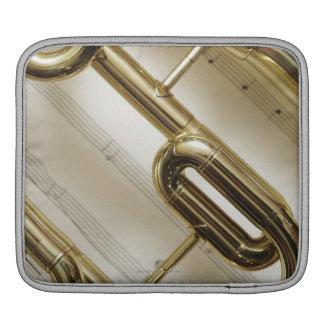 Detailed Trumpet iPad Sleeve