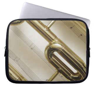 Detailed Trumpet Laptop Sleeve