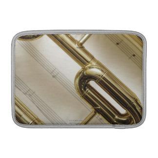 Detailed Trumpet MacBook Sleeve