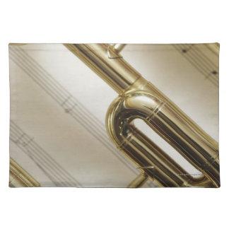 Detailed Trumpet Placemat