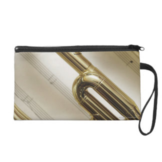 Detailed Trumpet Wristlet
