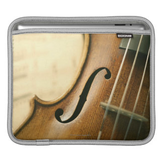Detailed Violin iPad Sleeve