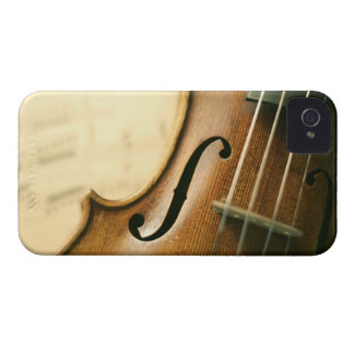 Detailed Violin iPhone 4 Covers