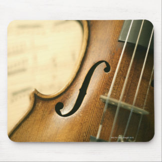 Detailed Violin Mouse Mat