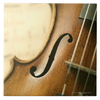 Detailed Violin Tile