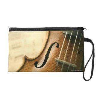 Detailed Violin Wristlet