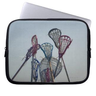 Details of Lacrosse game Laptop Sleeve
