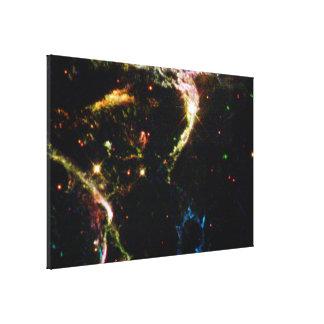 Details of Supernova Remnant Cassiopeia A Canvas Prints