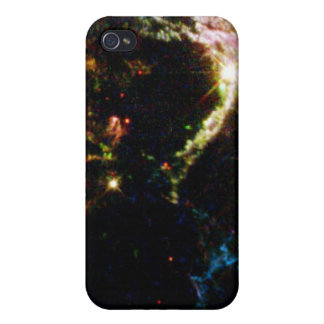 Details of Supernova Remnant Cassiopeia A Cover For iPhone 4