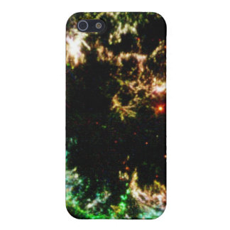 Details of Supernova Remnant Cassiopeia Cover For iPhone 5/5S