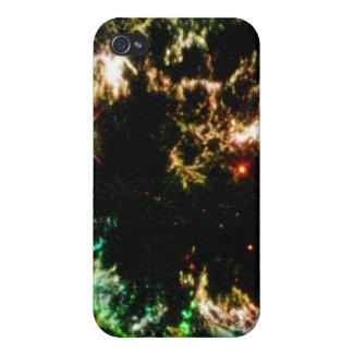 Details of Supernova Remnant Cassiopeia iPhone 4 Case