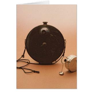 Detective cameras card