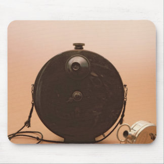 Detective cameras mouse pad