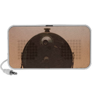 Detective cameras speaker