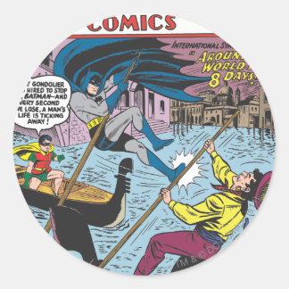 Detective Comics #248 Round Sticker