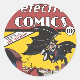 Detective Comics #27 Round Sticker