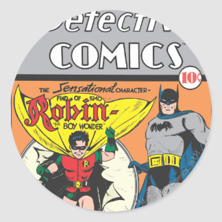 Detective Comics #38 Round Sticker