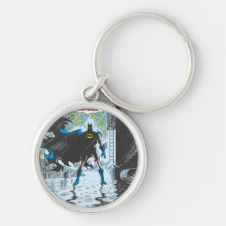 Detective Comics #587 Silver-Colored Round Key Ring