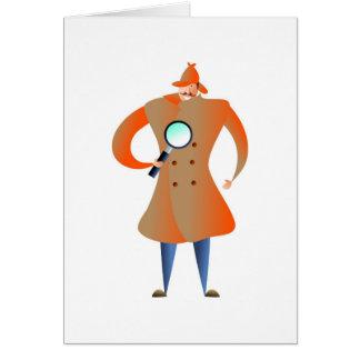 Detective Greeting Card
