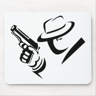 Detective Mobster Mousepad