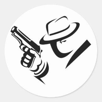 Detective Mobster Sticker
